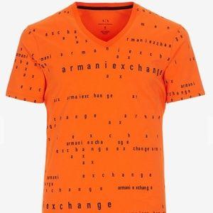 Armani Exchange Logo T Shirt Size XL Logo Letterin